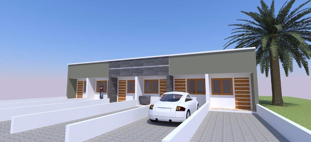 Casa de 1 dormitório em Salinas, Cidreira - RS