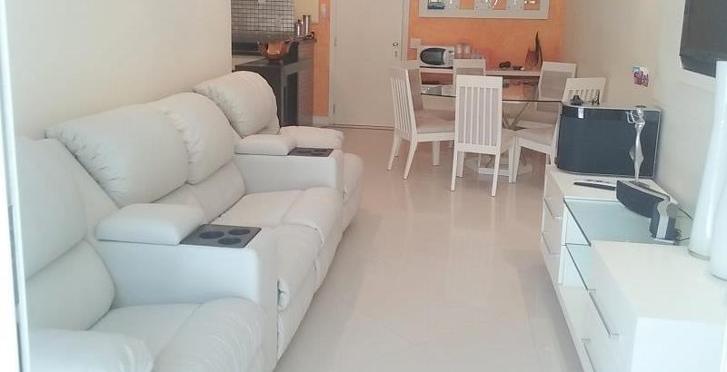 Apartamento  residencial à venda, Jardim Três Marias, Guaruj