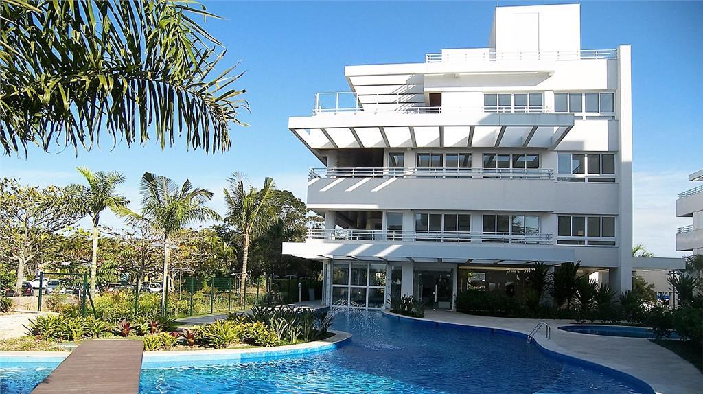 Apartamento pé na areia em condominio exclusivo em Jurere Internacional