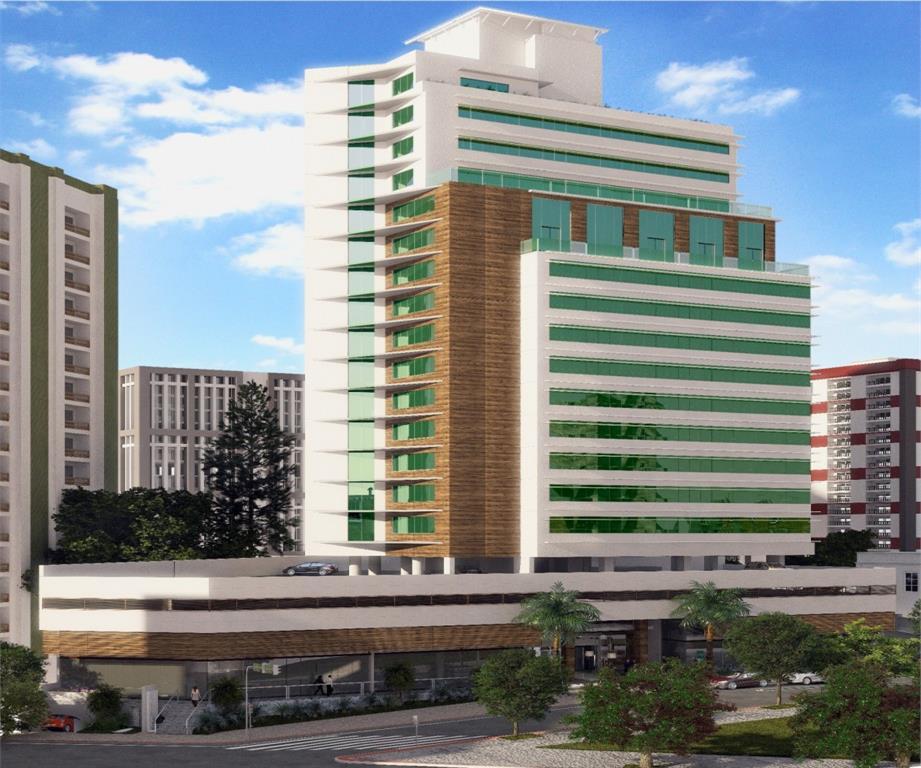 Andar Corporativo comercial à venda no Premier Office, Centro, Florianópolis. Obra pronta.