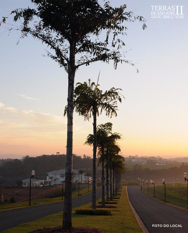 Terreno residencial alto padrão, à venda, Condomínio Terras de São José 2, Itu.