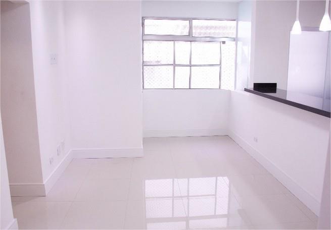 Apartamento 2 dormitórios - reformadissimo, Santos.