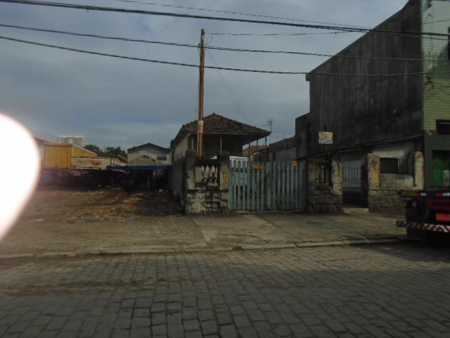 Terreno residencial à venda, Macuco, Santos.