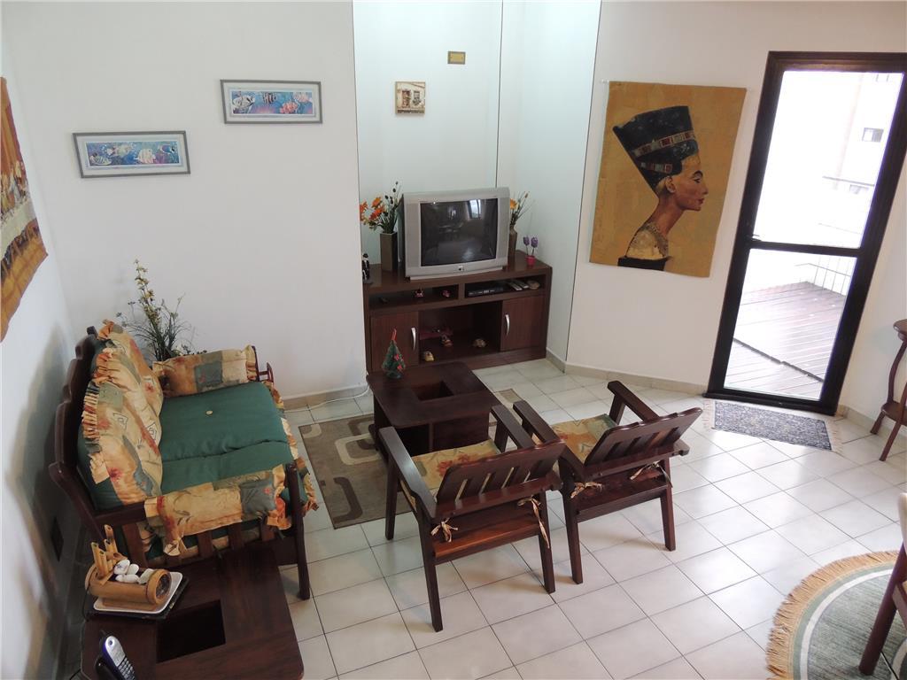 Flat  residencial para locação, Ponta da Praia, Santos.