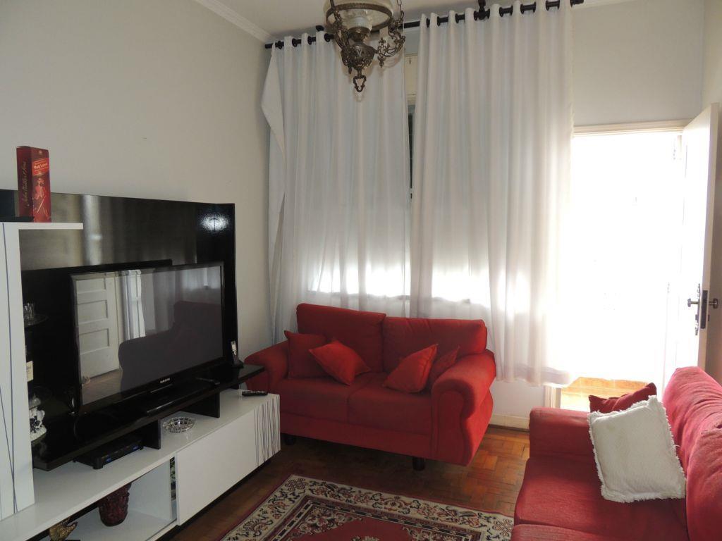 Apartamento residencial mobiliado para locação, Gonzaga, San...