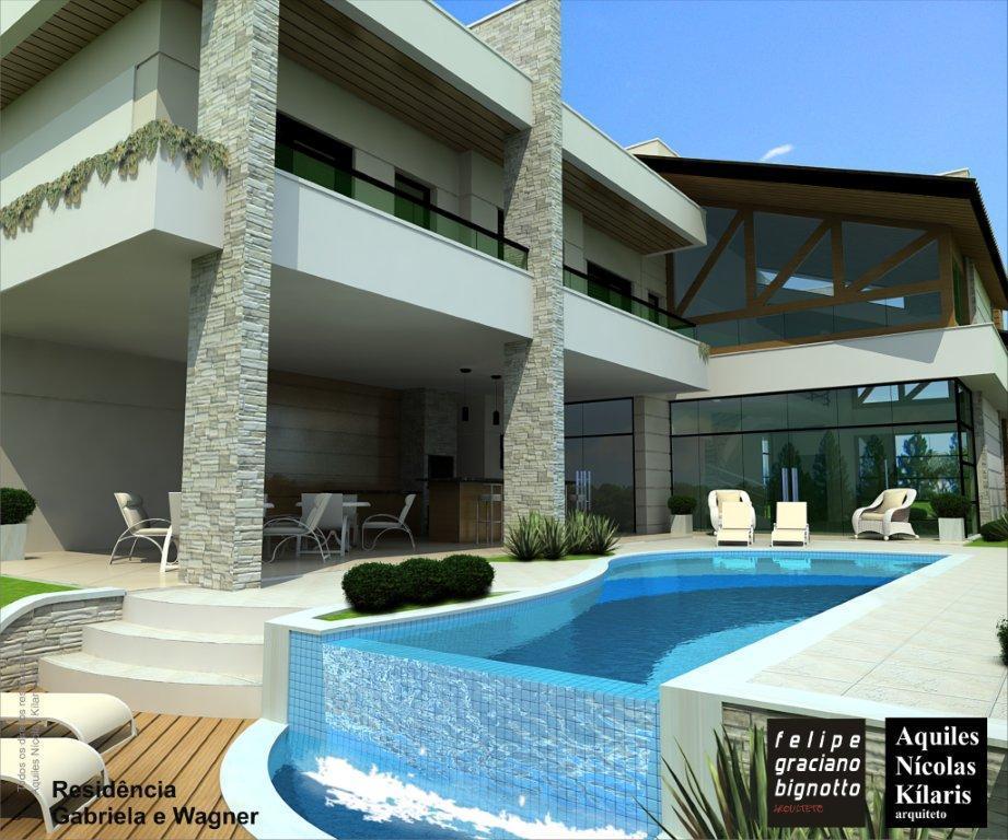 Casa 5 Dorm, Alphaville Dom Pedro, Campinas (CA1653) - Foto 6