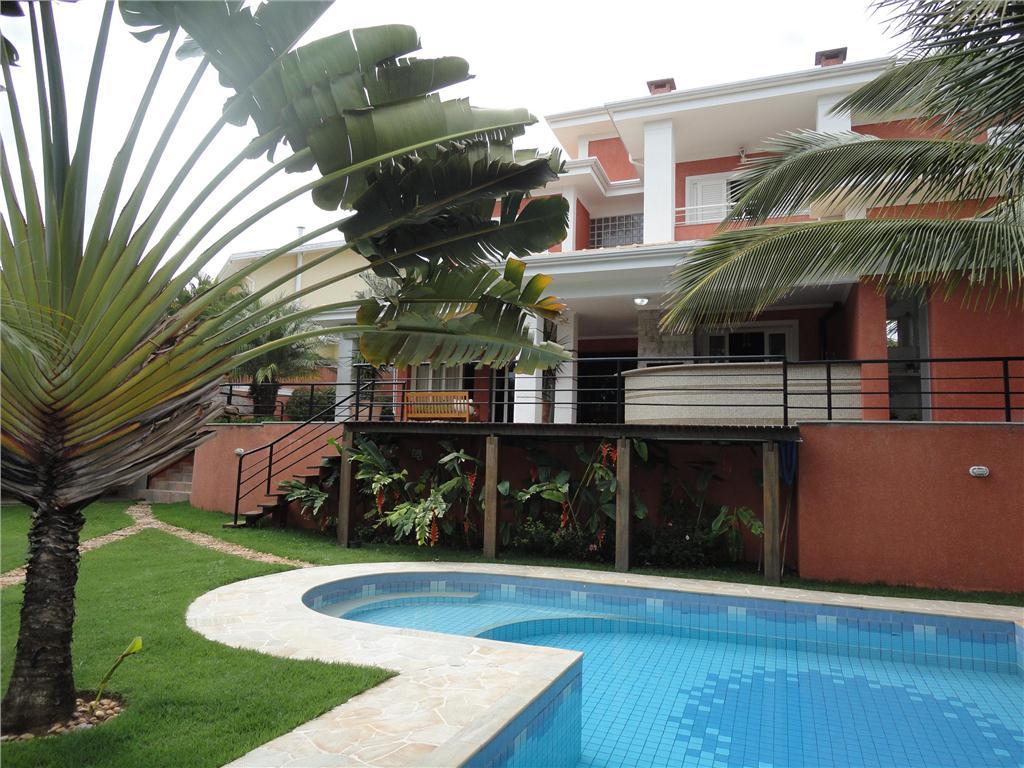 Casa 4 Dorm, Alphaville Campinas, Campinas (CA0977)