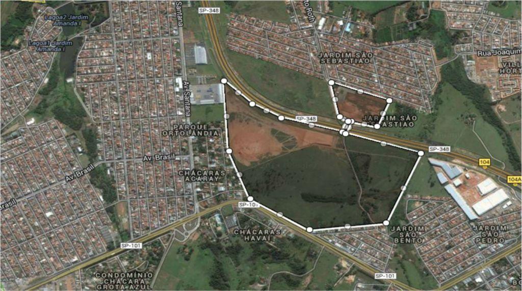 Terreno, Jardim São Bento, Hortolândia (AR0608)
