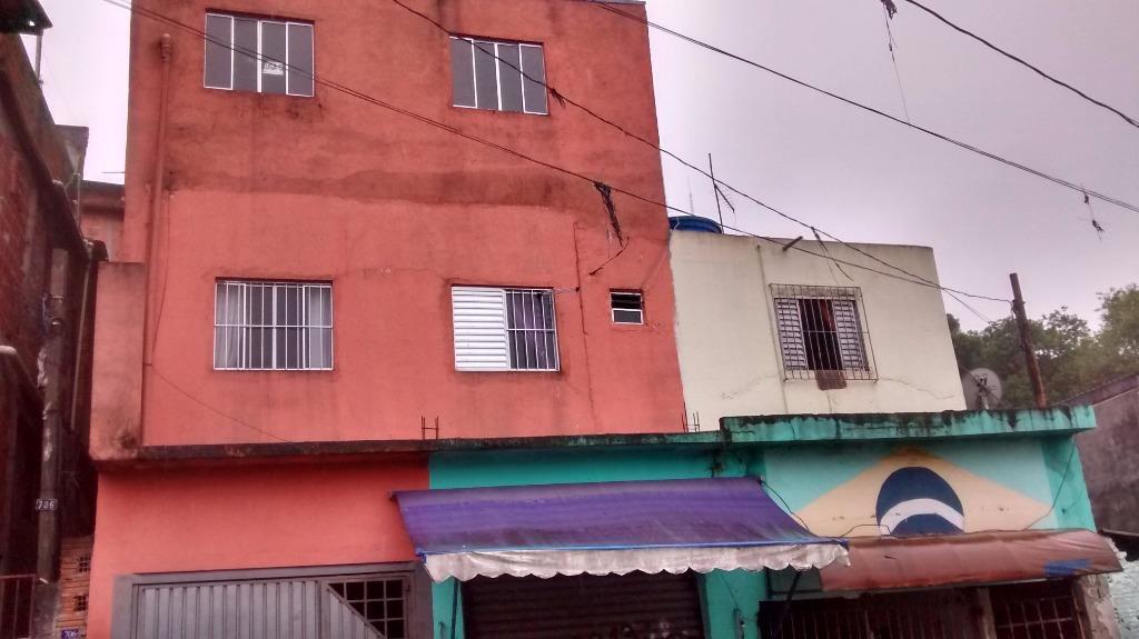 Sobrado residencial à venda, Americanópolis, São Paulo.