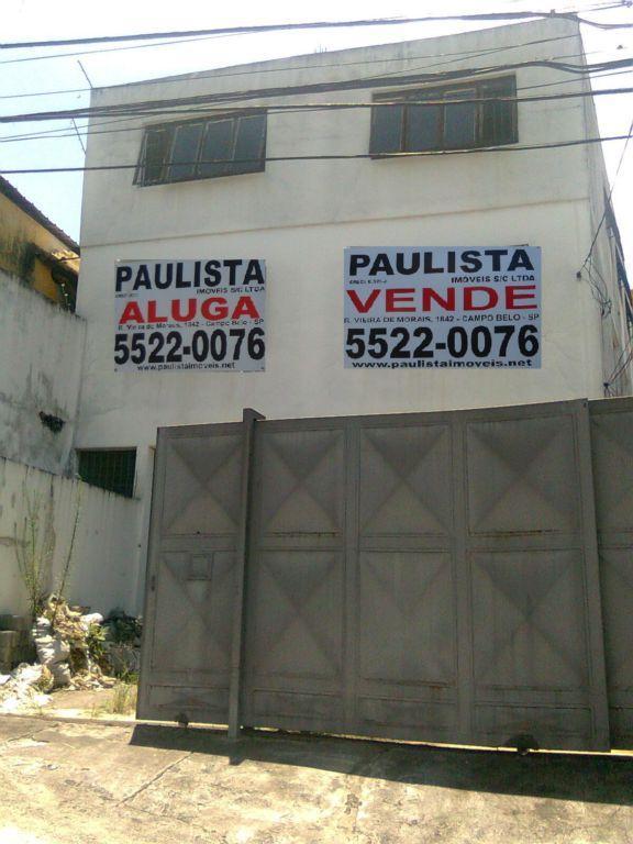 Galpão, Cidade Ademar, São Paulo (GA0097)