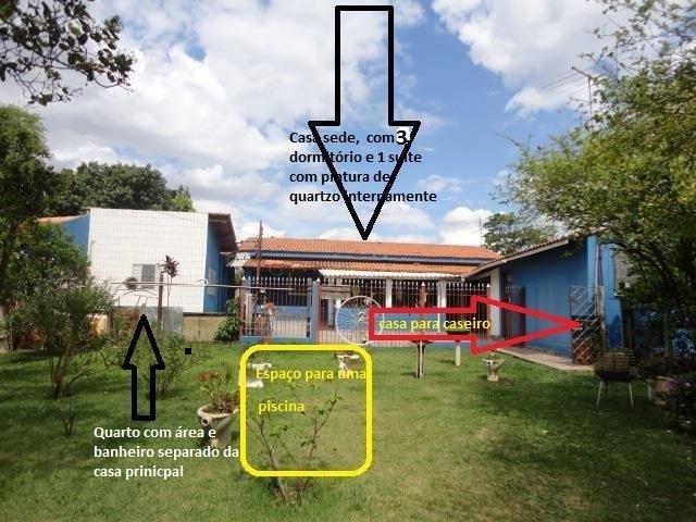 Chácara residencial à venda, Chácara Planalto, Hortolândia - de Aruana Imóveis.'