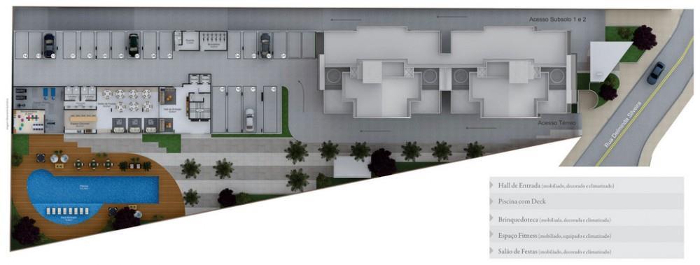 Campos Eliseos de 2 a 3 dormitórios em Agronômica, Florianópolis - SC