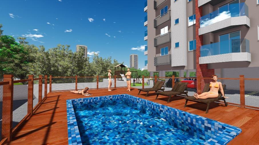 Solar Das 4 Estações de 2 a 3 dormitórios em Capoeiras, Florianópolis - SC