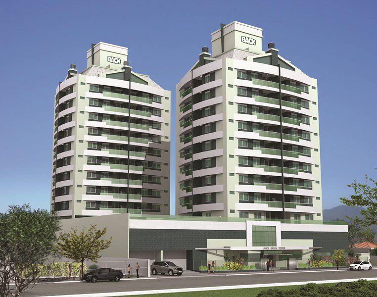 Back Green Towers de 2 a 4 dormitórios em Trindade, Florianópolis - SC