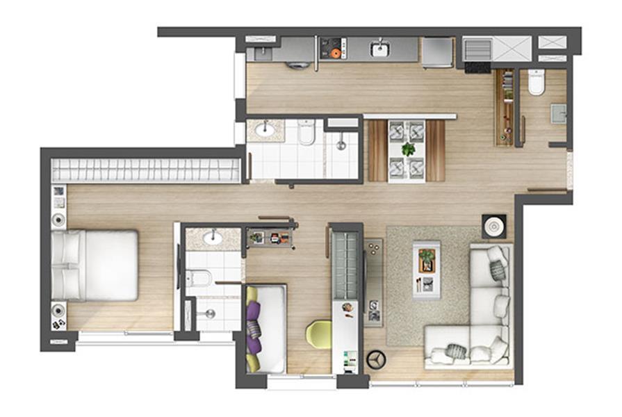 Apartamento com 2 dormitório2, sendo 2 suítes, living 2 ambientes, banheiro social, lavabo, cozinha, área de serviço e 1 vaga de garagem. Empreendimento com Praça Mirante, Deck Molhado, Piscina Coberta, Bangalô Zen, Salão de festas, Fitness, Laundry, piscina. No Axis Home você tem o privilégio de fazer parte de um conceito inteligente em uma localização que reflete um estilo atual e conectado à cidade. Tudo planejado da melhor forma para garantir seu conforto e bem-estar. Agende hoje mesmo uma visita com um de nossos consultores.