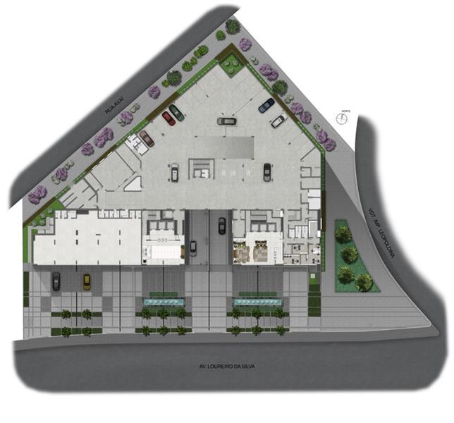 Sala comercial com 36,04m no Duo Concept Office. A grandeza e a exclusividade desse lançamento imperdível propõe novas maneiras de realizar negócios, em uma localização valorizada da cidade. Com sua arquitetura arrojada, o Duo Concept Office oferece praticidade e sofisticação.