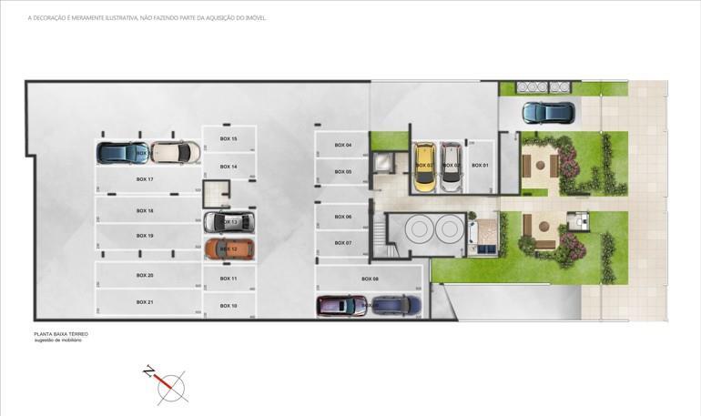 Imóveis, vende no Bairro Santana, aptos de dois dormitórios, sendo uma suíte, sala de estar/jantar, banheiro social e cozinha americana. (Clique para ver)