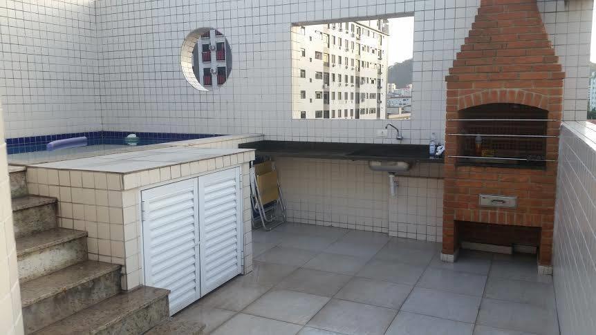 Cobertura 3 Dorm, Campo Grande, Santos (CO0100) - Foto 4