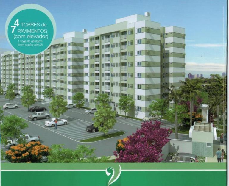 Apartamento - Venda, Residencial Torres de Várzea Grande - C