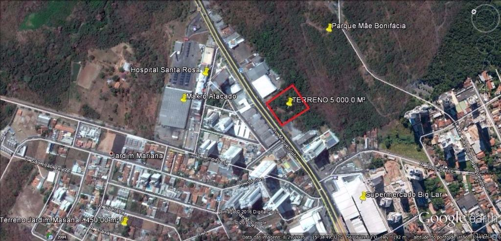 Terreno 5.000 m² à venda, Duque de Caxias II, Cuiabá.