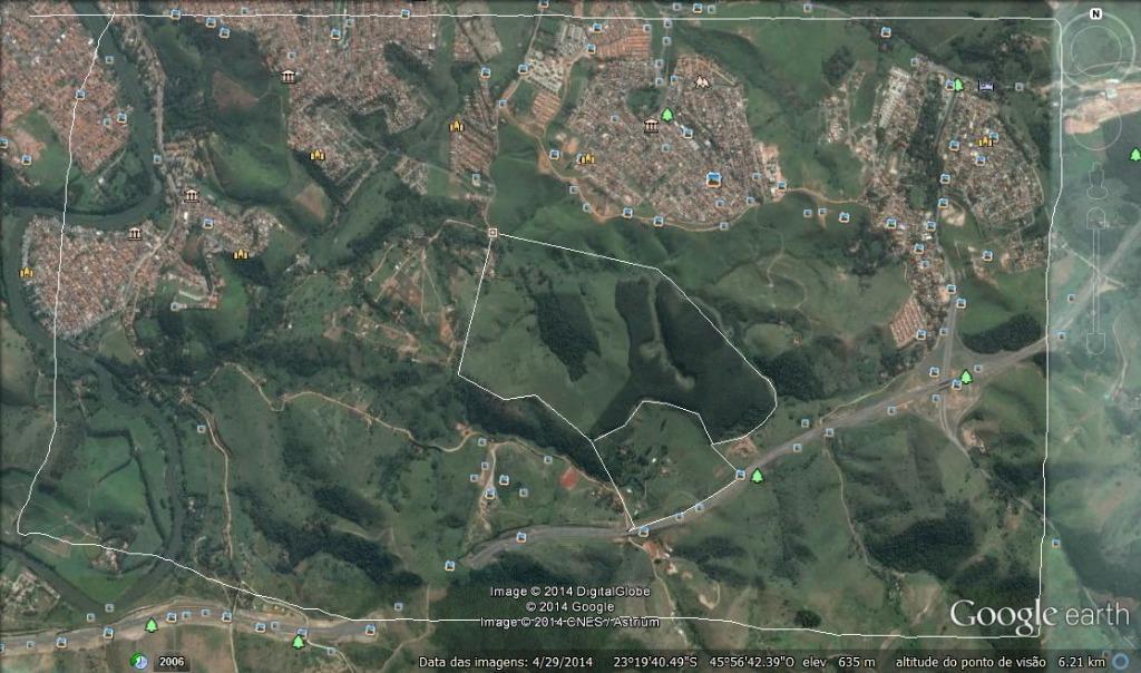 Área 61 alqueires, R$ 80/m² - Jacareí de Rhodia Imóveis e Pontos Comerciais.'