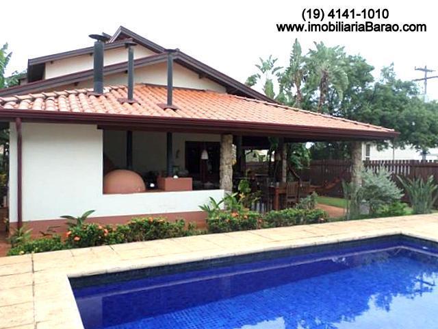 Casa 4 Dorm, Loteamento Residencial Barão do Café, Campinas (CA1085) - Foto 3