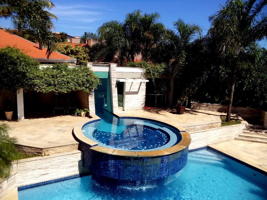 Casa 4 Dorm, Residencial Parque Rio das Pedras, Campinas (CA1111)