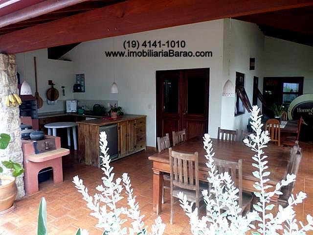 Casa 4 Dorm, Loteamento Residencial Barão do Café, Campinas (CA1085)