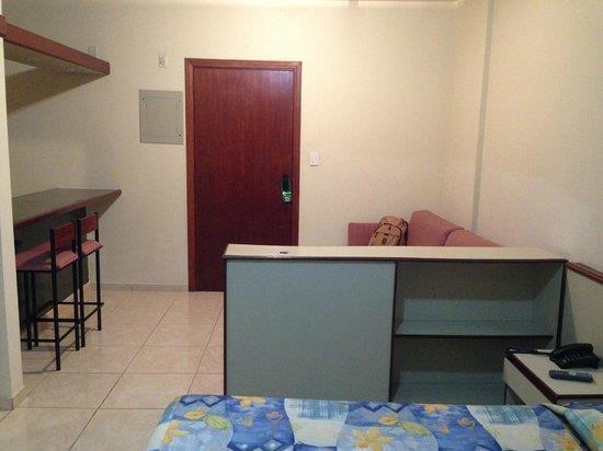 Flat para alugar, 36 m² por R$ 2.200,00/mês - Centro - São Vicente/SP