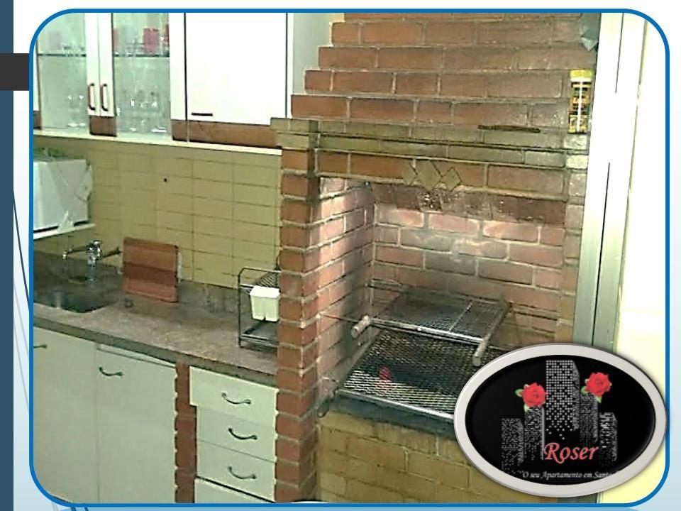 Cobertura de 3 dormitórios à venda em Centro, São Vicente - SP