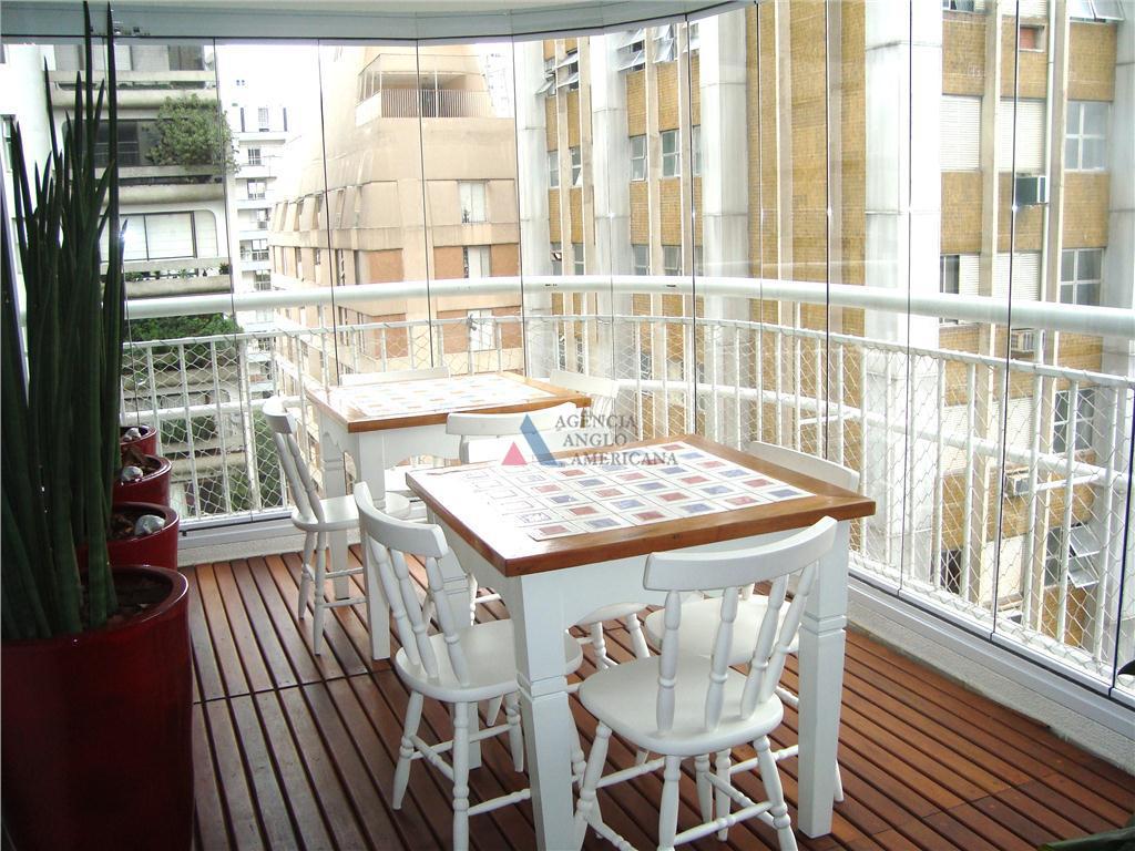 Apartamento Residencial para locação, Jardim América, São Paulo - AP2453.