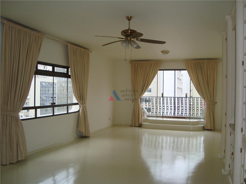 Apartamento residencial para locação, Jardins, São Paulo - AP4673.