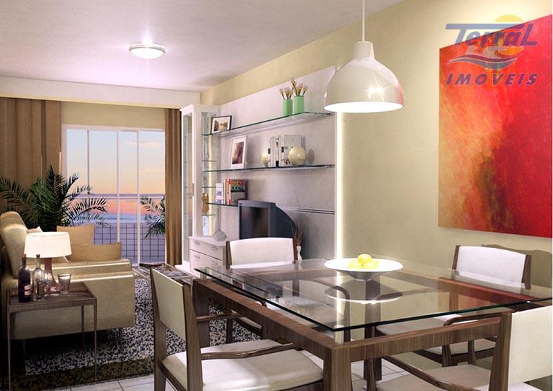 Cobertura residencial à venda, Vila Caiçara, Praia Grande.