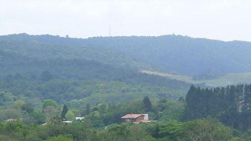 Vista do Bairro Campo no Patrimônio do Carmo.