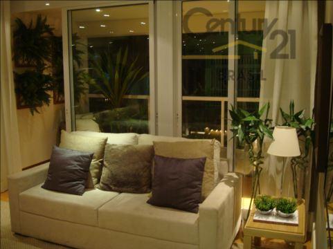 Apartamento residencial à venda, Brooklin Paulista, São Paulo.