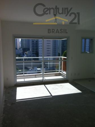 Apartamento novo venda, 1 dormitório - Brooklin - próx. Roberto Marinho - 1 vaga