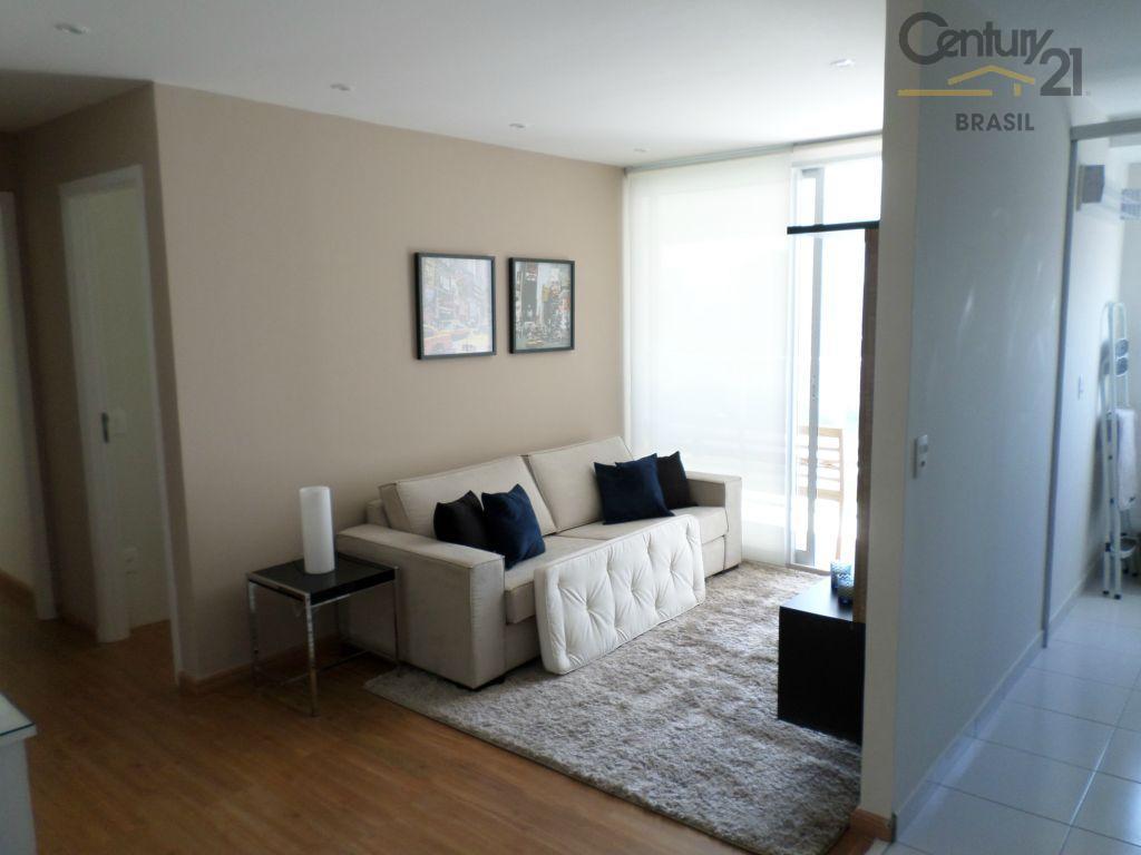 Apartamento novo e mobiliado - 02 doms 01 vaga - Brooklin Paulista, São Paulo.