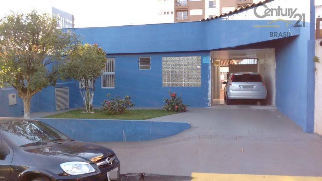 Casa comercial para venda e locação, Vila Ipiranga, Londrina.