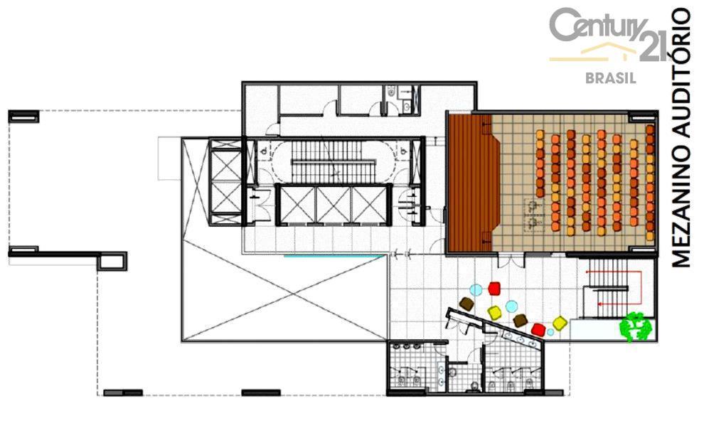 laje em edifício elegante localizada a 1 quadra da av. faria lima e ao lado da...