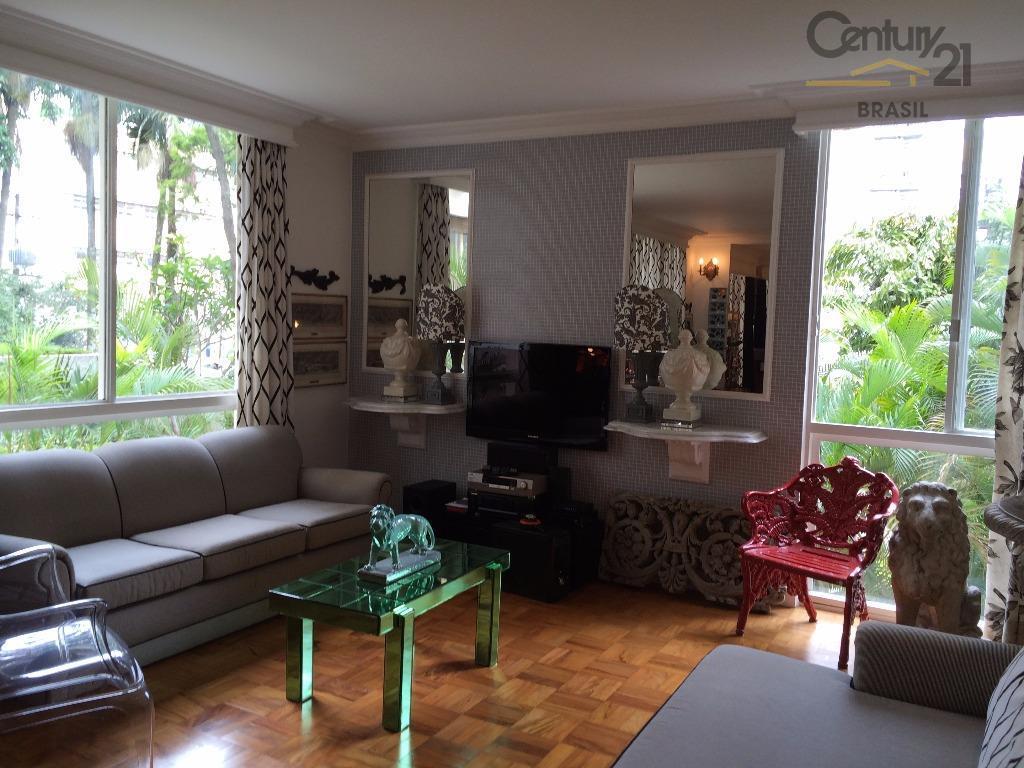 Apartamento residencial à venda, Jardim América, São Paulo - AP8016.