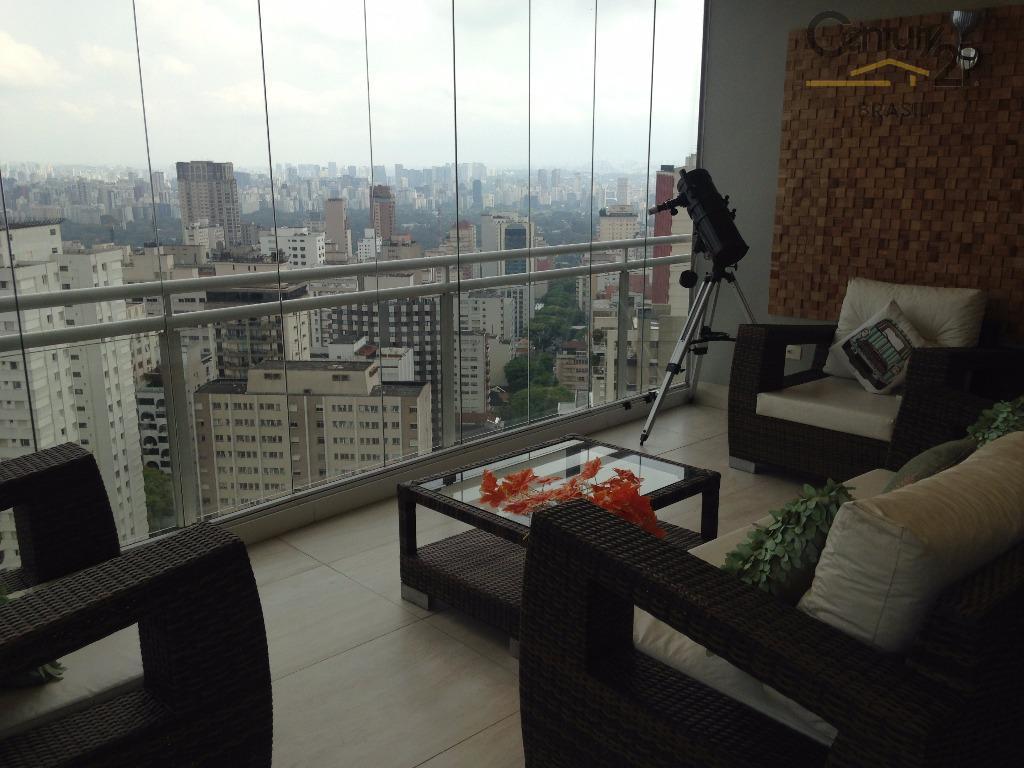 Cobertura residencial para venda e locação, Jardim América, São Paulo - CO0662.