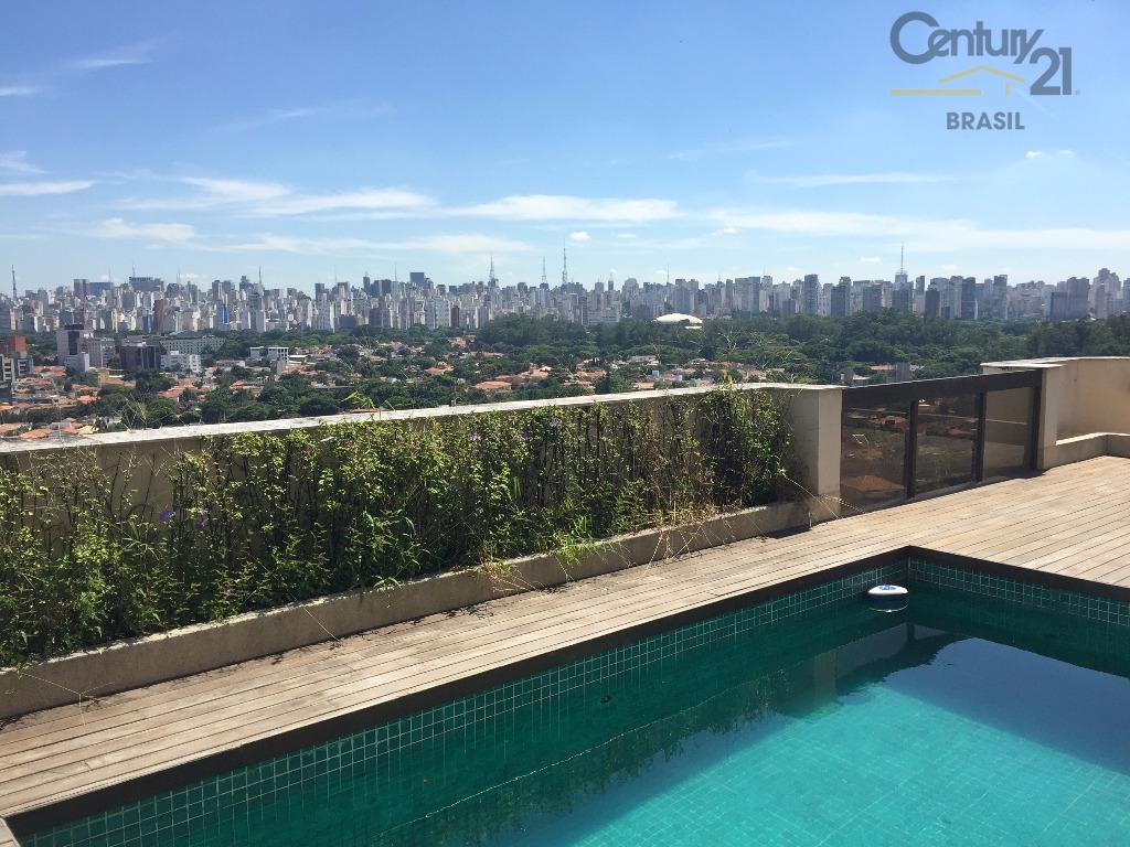 Cobertura residencial à venda, Vila Nova Conceição, São Paulo.