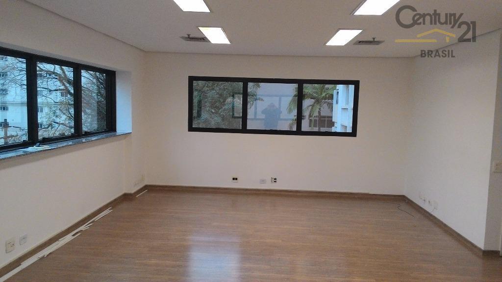 C21 vende e aluga ótimo conjunto 109 m2, em excelente localização na Al. Jaú, a apenas 2 quadras da estação metrô Trianon - Masp