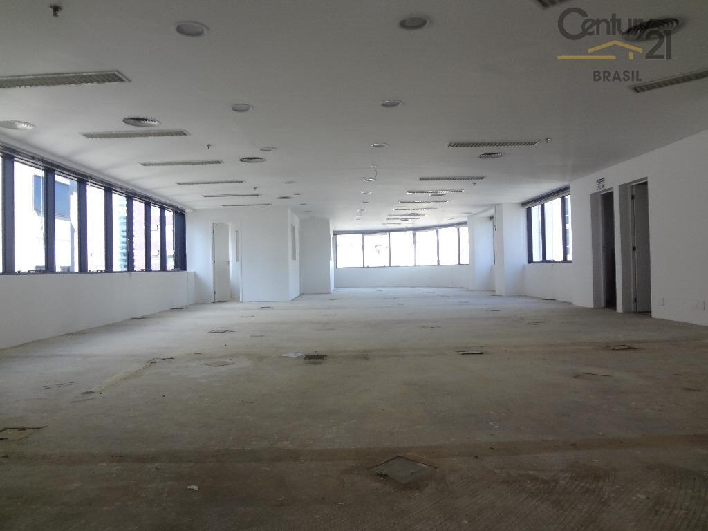 Ótimo conjunto comercial com 223 m2 em excelente localização, a menos de 100 m da Berrini e a apenas 700 m da estação da CPTM