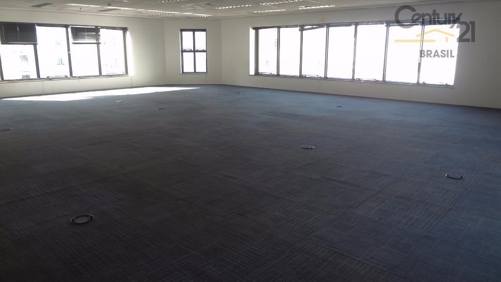 Ótimo conjunto comercial com 263 m2 em vão livre em excelente localização na região da Av. Paulista.