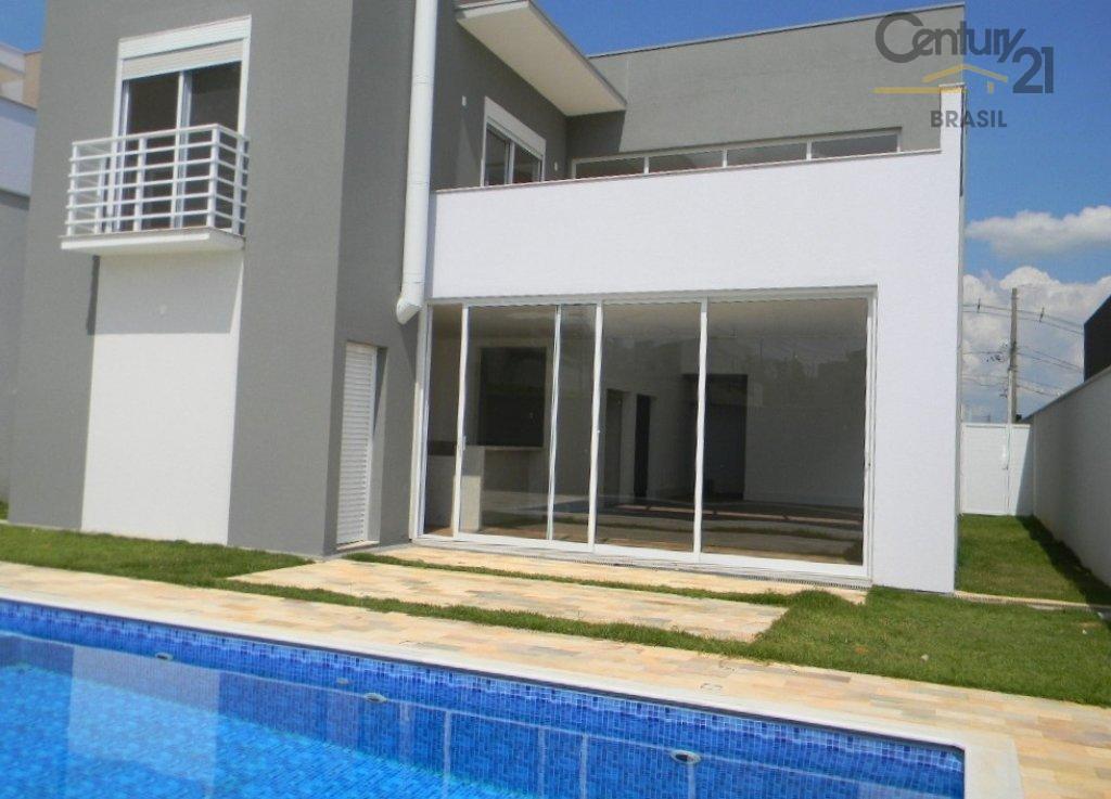 Casa residencial para venda e locação, Condomínio Helvétia Park, Indaiatuba - CA0140.
