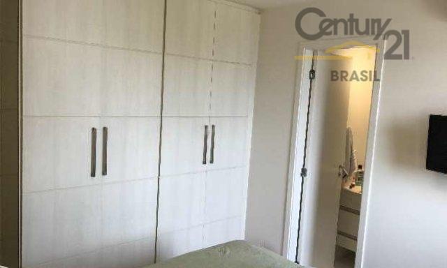 ótimo apartamento com 2 dormitórios, 1 suíte, 1 vagas, excelente varanda, cozinha americana, prédio com lazer,...