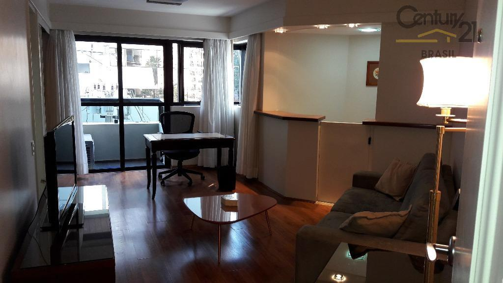 Flat residencial à venda, Jardim América, São Paulo - FL0080.