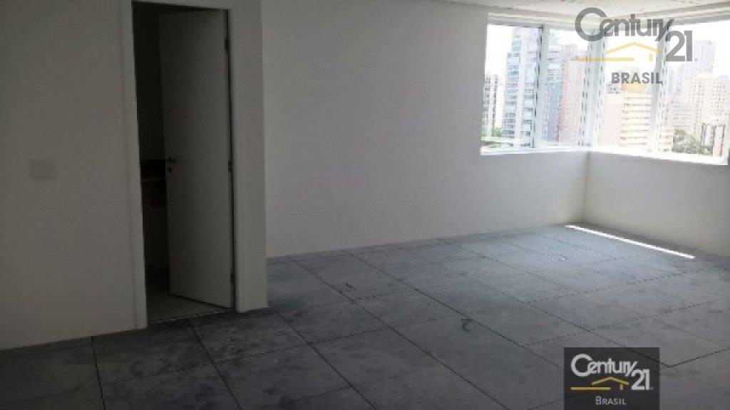 Ponto Comercial 42m2 sala comercial, com ar condicionado central para locação, Vila Nova Conceição, São Paulo - PT0005.