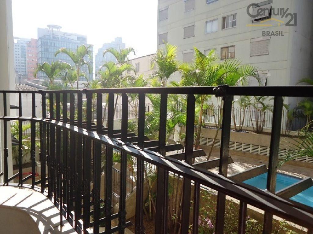 Apartamento Residencial para locação, Santa Cecília, São Paulo - AP0407.